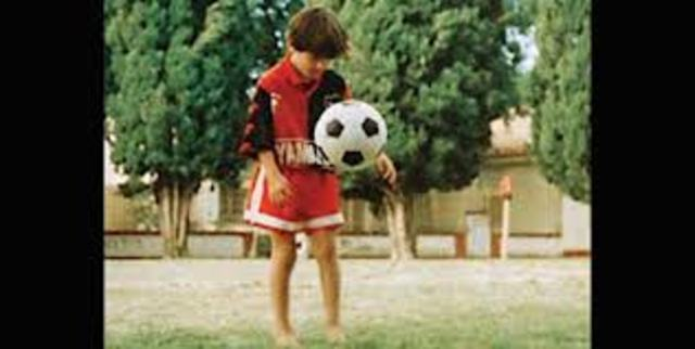 LIONEL MESSI NEWELL´S OLD BOYS