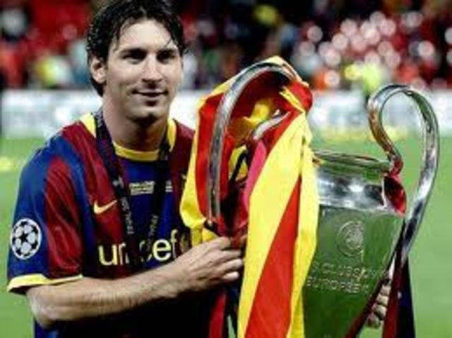 LIONEL MESSI UEFA CHAMPIONS LEAGUE