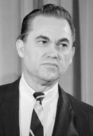 George Wallace, Governor of Alabama