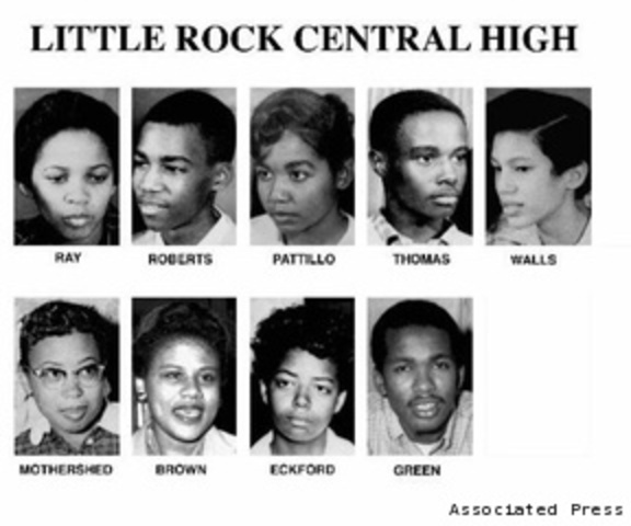 "The ""Little Rock Nine"""