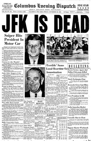 The assassinations of john f kennedy and martin luther king jr during the 1960s in the united states
