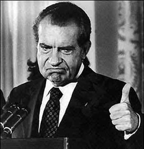Richard Nixon/ Watergate scandal
