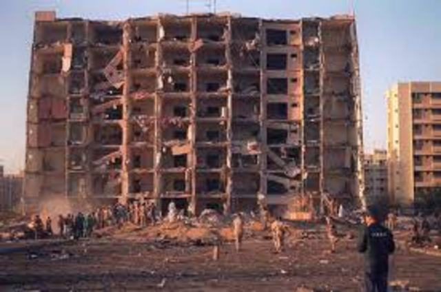 Terrorist Truck Bomb/Beirut barracks bombing