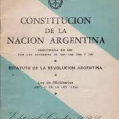 Línea del tiempo de la Constitución Nacional  timeline