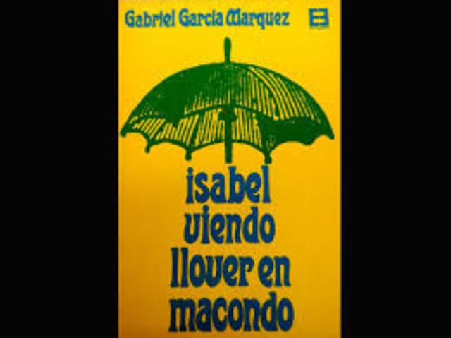 """""""Isabel viendo llover en Macondo"""""""