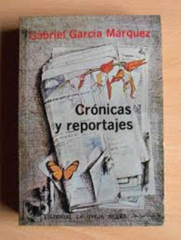 """""""Crónicas y reportajes"""""""