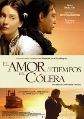 """""""El amor en los tiempos del cólera"""""""