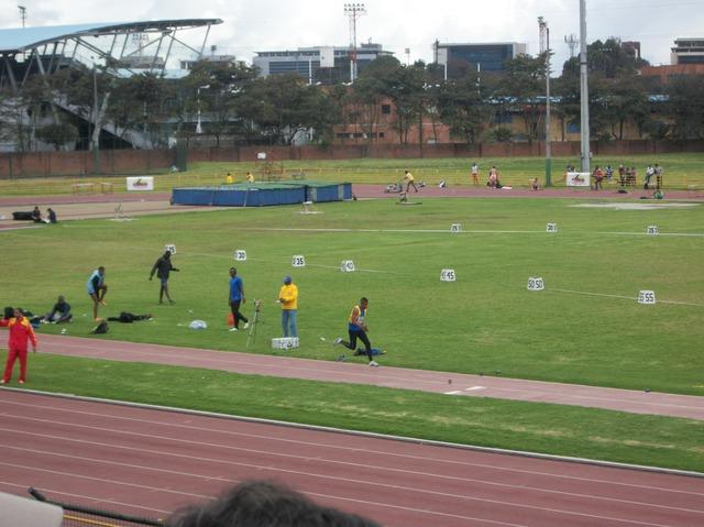 participacion en el campeonato suramericano menores