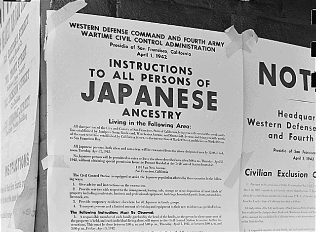 Interment of Japanese Americans