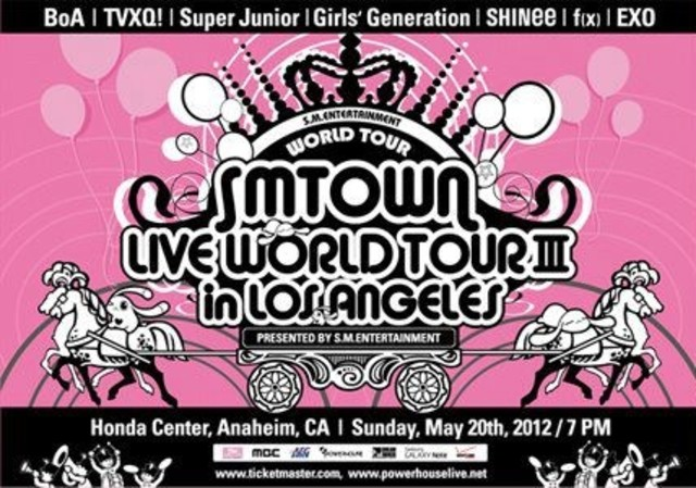 SMTown Live '10 World Tour in Los Angeles