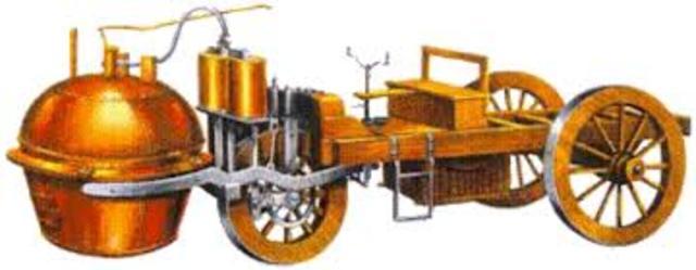tractor militar de vapor