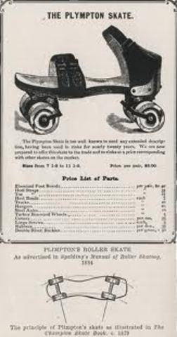 Patines de cuatro ruedas
