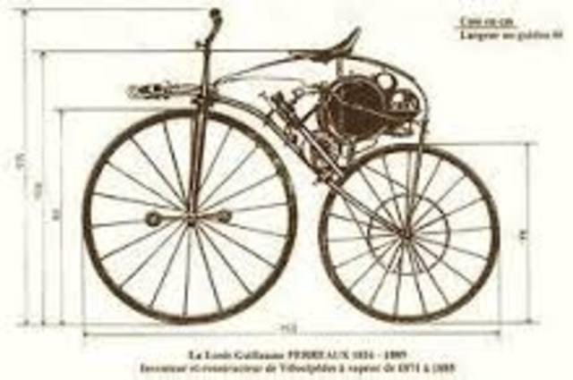 la primera motocicleta