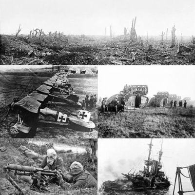 World War 1 -By Leah  timeline