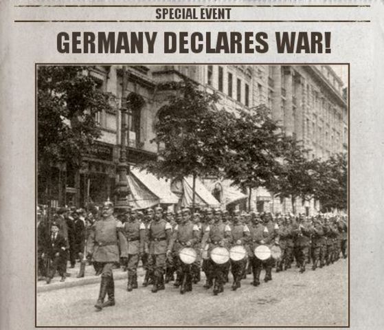 Image result for germany declared war on france