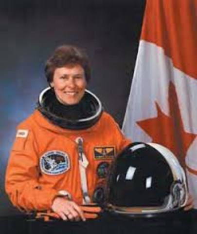 First Canadian Female Launched Into Space