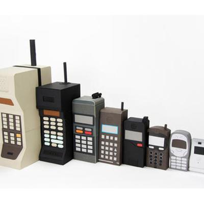Evolution of Mobile Phones timeline