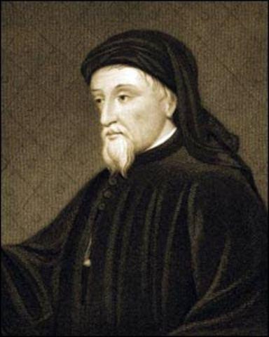 Geoffrey Chaucer was born