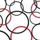 Red n black circles