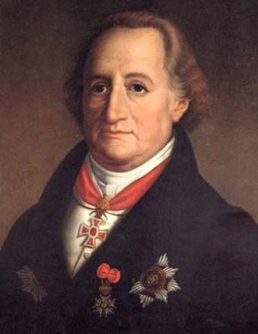 Sünnib Johann Wolfgang Goethe