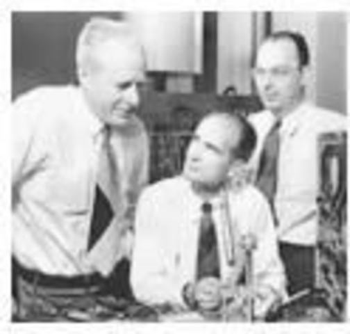 Primer transistor de estado sólido