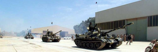 Tanks Spread Through Benghazi
