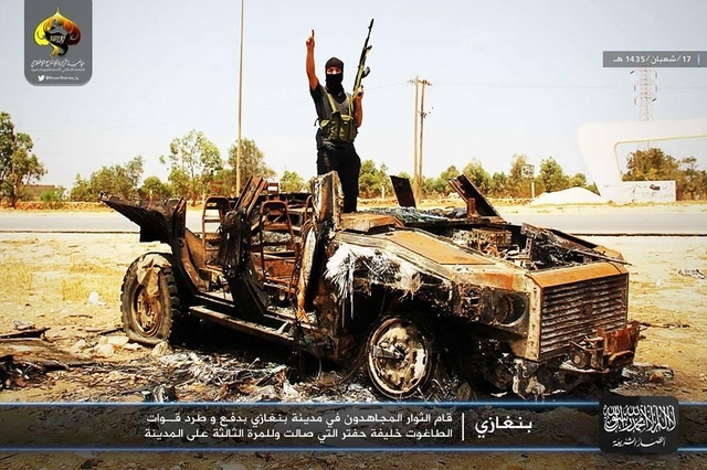 Islamists Beseige Benina