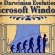 Evolution microsoft windows m