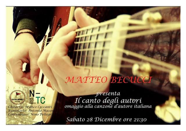 """Live """"Il canto degli autori"""" @Livorno Nuovo Teatro delle Commedie"""