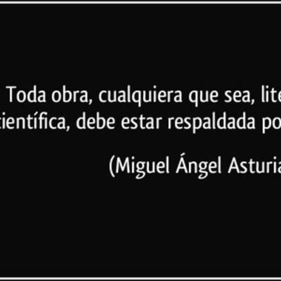 Miguel Ángel Asturias timeline