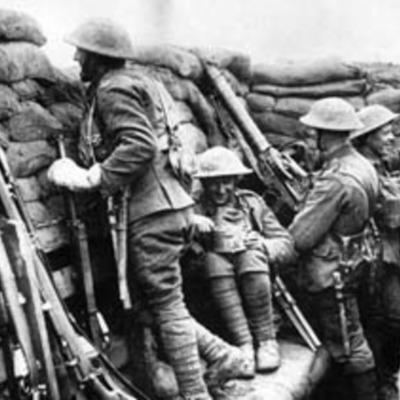 Art et première guerre mondiale timeline