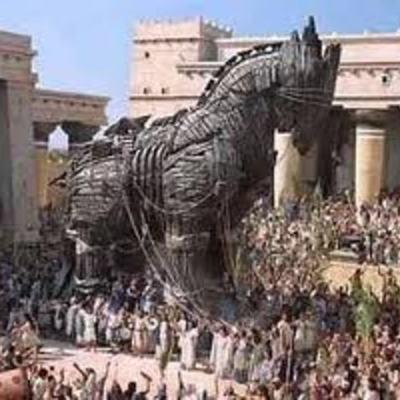Trojan War by Kaylina Johnston timeline