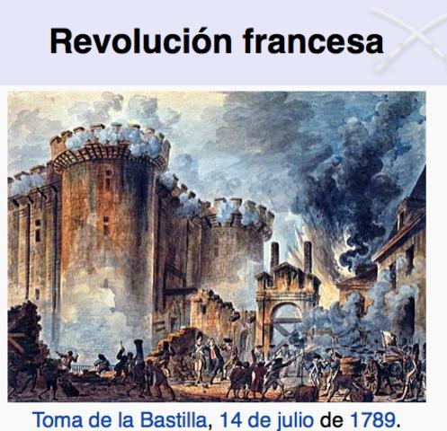 1789-1804 Revolución Francesa
