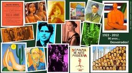 Publicações mais Importantes do Modernismo Brasileiro - 1ª e 2ª Fases timeline