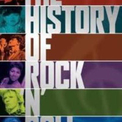 la historia del rock timeline