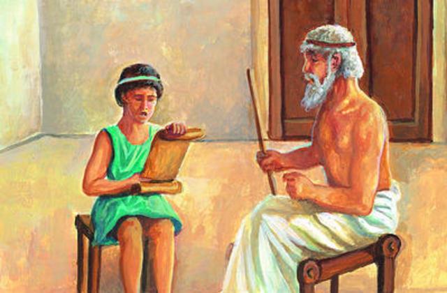 Educación De Niños En Antigua Grecia
