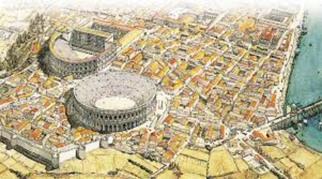 """Siglo IV a.c """" primer camino romano"""""""