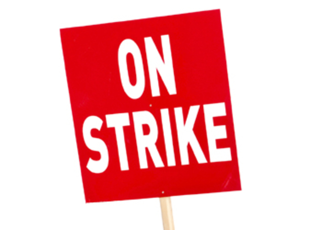 maritime workers strike occurs.