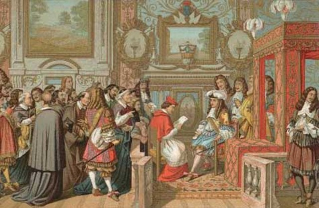 The Marriage Of King Louis XIV