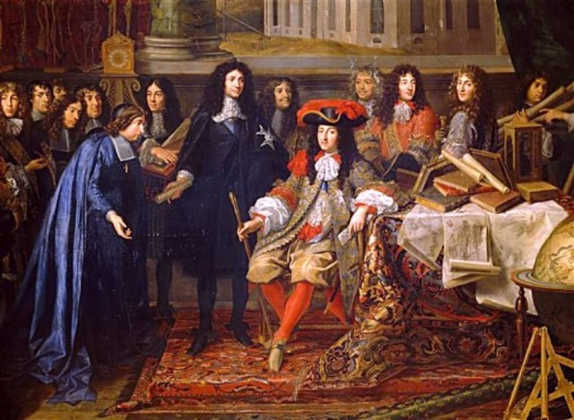 Louis XIV weaken the noble system. and give more power to the government.