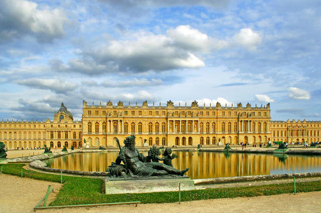 The expanding of the Palace of Versailles.