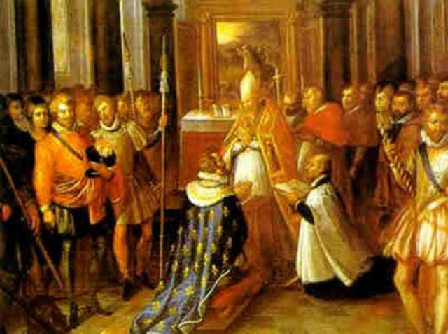 Revocation of the Edict of Nantes.