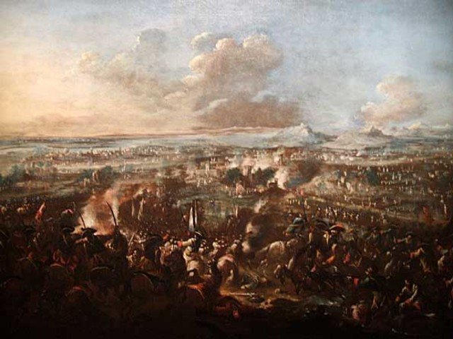 Spanish attacking France.