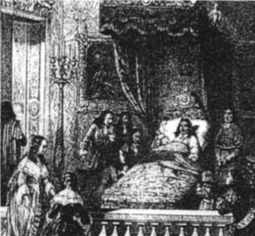 The Death of King Louis XIV
