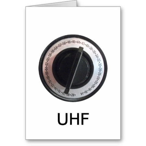 UHF = Ultra High Frequency