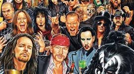 bandas reprecentativas del heavy metal timeline