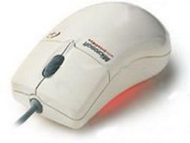 e estrena el mouse óptico