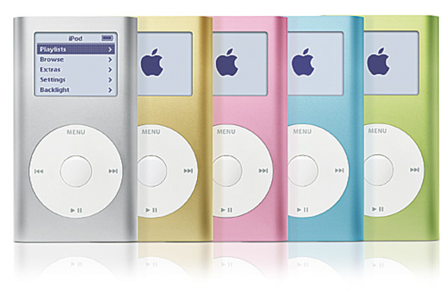First ipod mini