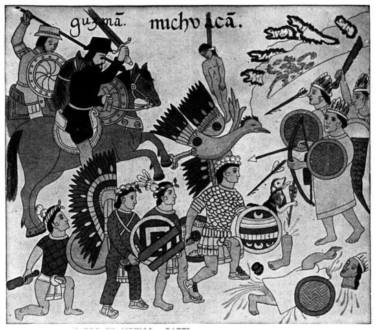 Masacre en la ceremonia del dios Huitzilopochtli