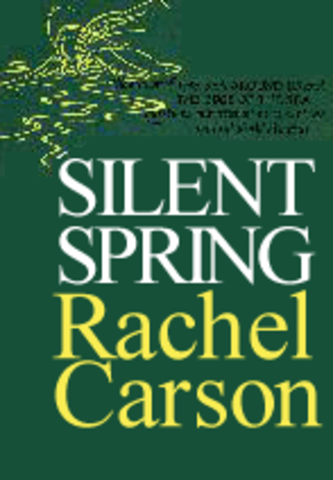 silent sppring essays Silent spring by: rachel carson review: this book was focused on the concern of pesticides that industries, along with us as individuals, have been dumping (both knowingly and unknowingly) into water.